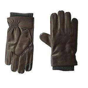 Tommy Hilfiger Men's Winter Glove With Knit Elast